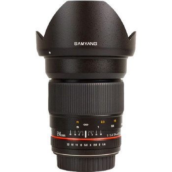 Samyang 24mm F1.4 ED AS UMC For Canon EF