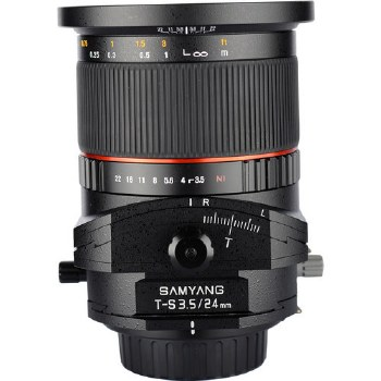 Samyang 24mm F3.5 ED Tilt-Shift For Nikon F