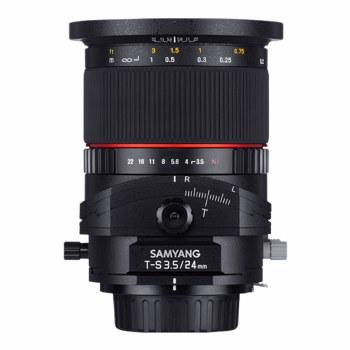 Samyang 24mm F3.5 Tilt-Shift For Sony E-Mount