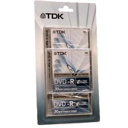 TDK 8cm DVD-R Discs