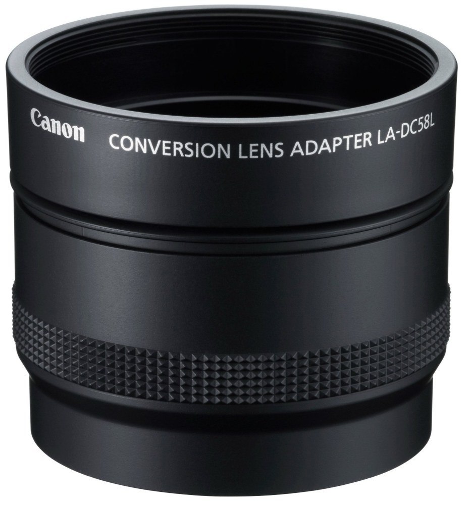 Canon LA-DC58L Conversion Lens Adapter