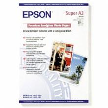 Epson Premium Semigloss A3 20 Sheets