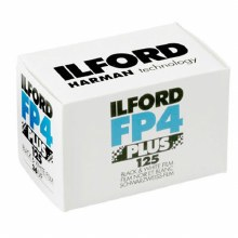 Ilford FP4 125 35mm Film (36 exposures) Single Roll