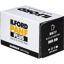 Ilford PanF 50 35mm Film (36 exposures) Single Roll