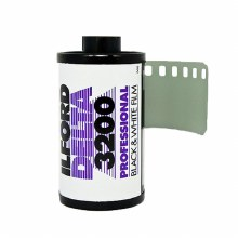 Ilford Delta 3200 35mm Professional Film (36 exposures) Single Roll