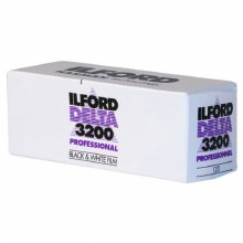 Ilford Delta 3200 Professional 120 Film Single Roll