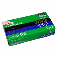Fujifilm Velvia 100F Professional 120 Film Single Roll