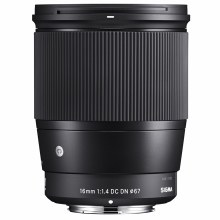 Sigma  16mm F1.4 DC DN Contemporary For Canon EF-M