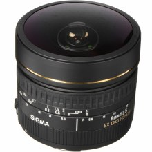 Sigma   8mm F3.5 EX DG Circular Fisheye For Canon EF