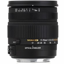 Sigma  17-70mm F2.8-4 DC MACRO HSM For Sony A-Mount