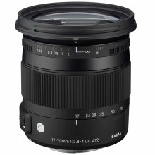 Sigma  17-70mm F2.8-4 DC Macro OS HSM Contemporary For Canon EF