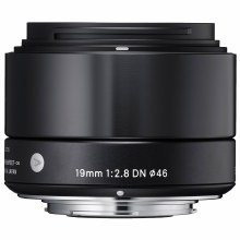 Sigma  19mm F2.8 DN Art Black For Micro 4:3
