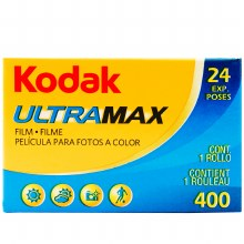 Kodak Ultramax 400 Color Film (24 Exposures)