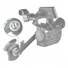 SmallRig Metabones Adaptor Support Bracket for FS5 1896
