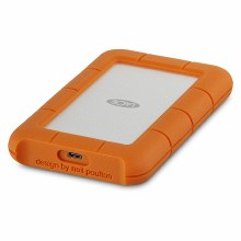 LaCie Rugged 1TB HDD (USB-C)
