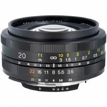 Voigtlander 20mm F3.5 Color Skopar SL II For Nikon F