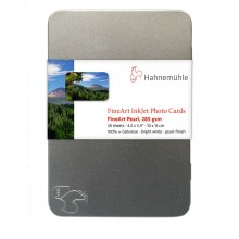 """Hahnemuhle Fine Art Pearl Photo Cards with Tin 6 x 4"""" (30 Sheets) 285gsm"""