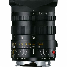 Leica 16-18-21mm F4 ASPH Tri-Elmar with Black Anodised + Universal Finder