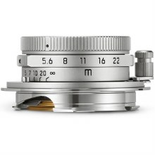 Leica  28mm F5.6 Silver Chrome Summaron-M