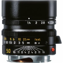 Leica 50mm F1.4 M Summilux Black