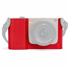 Leica TL Leather Protector Red