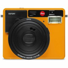 Leica Sofort Instant Camera Orange