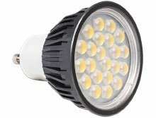 Delock Lighting GU10 LED illuminant 5.0 W warm white 22 x SMD Epistar 60