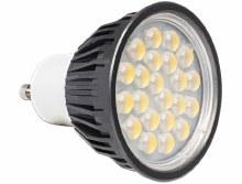 Delock Lighting GU10 LED illuminant 5.0 W warm white 22 x SMD Epistar 60