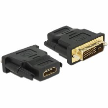 Delock Adapter DVI 24+1 pin male > HDMI female