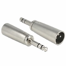 Delock Adapter XLR Male To 6.35mm Stereo Jack Male Stereo