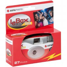 Agfa Photo LeBox 400 27 Flash Single Use Film Camera