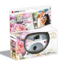 AgfaPhoto LeBox 400 Single Use Camera Wedding with Flash(27 Exposures)