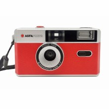 AgfaPhoto Reuseable 35mm Film Camera - Red