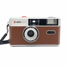 AgfaPhoto Reuseable 35mm Film Camera - Brown