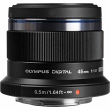 Olympus ED  45mm F1.8 M.Zuiko Digital Black
