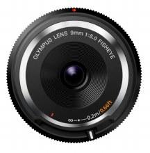 Olympus ED   9mm F8.0 Fish Eye Body Cap Black