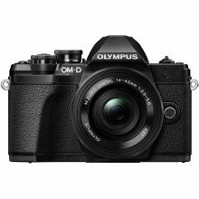 Olympus OM-D E-M10 Mark III Black with 14-42mm & 40-150mm