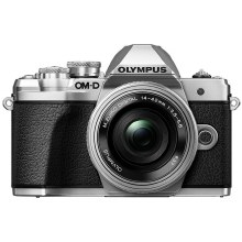Olympus OM-D E-M10 Mark III Silver with 14-42mm & 40-150mm
