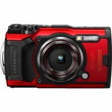 Olympus Tough TG-6 Red Waterproof Camera