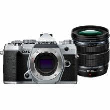 Olympus OM-D E-M5 Mark III Black Camera with 12-45mm F4 PRO Lens