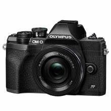 Olympus OM-D E-M10 Mark IV Black Camera with 14-42mm Lens