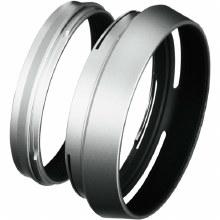 Fujifilm LH-X100 Lens Hood with Adaptor Ring Silver
