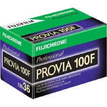 Fujifilm Provia 100F 35mm Film (36 exposures) Single Roll