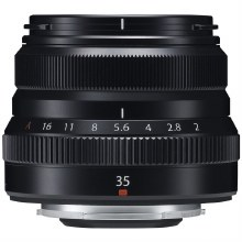 Fujifilm XF  35mm F2 R WR Black Lens