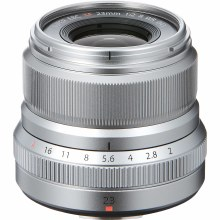 Fujifilm XF  23mm F2 R WR Silver Lens