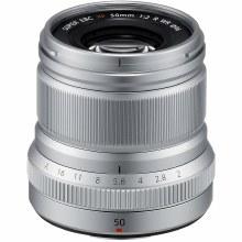 Fujifilm XF  50mm F2 R WR Silver Lens