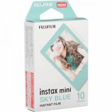 Fujifilm Instax Mini Colour Film with Blue Frame