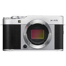 Fujifilm X-A5 Silver with XC 15-45mm F3.5-5.6 OIS PZ