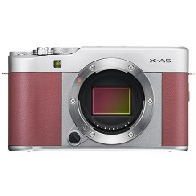 Fujifilm X-A5 Pink with XC 15-45mm F3.5-5.6 OIS PZ