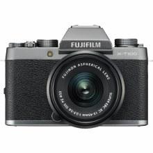 Fujifilm X-T100 Silver with XC 15-45mm F3.5-5.6 OIS PZ